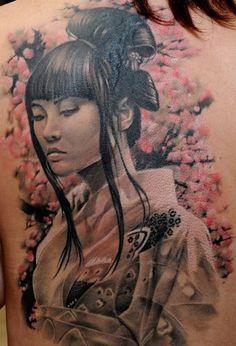 37 geisha tattoo