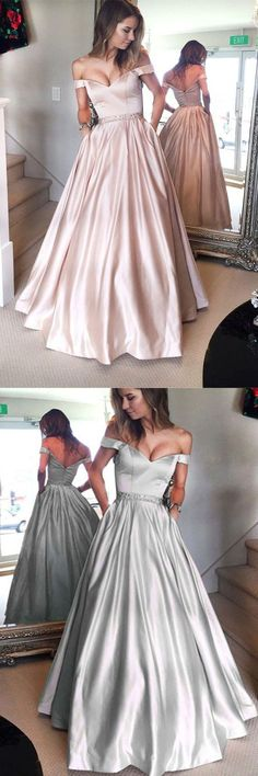 Custom Made Charming Pink Prom Dresses,Sexy Backless Evening Dresses,Off The Shoulder Prom Dresses,Floor Length Evening #pinkpromdresses #AlinePromDresses #offtheshoulderprom #backlesspromdresses #longpromdress #eveningdress #promdresses #promgown #partydresses #eveninggown #2018promdresses #Loveprom