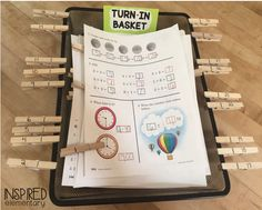 This simple clip turn-in basket is one of my favorite classroom management tools ever! This sweet little basket is what finally freed up ...