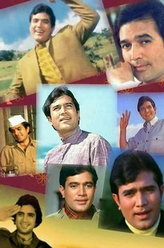Indian Celebrities, Bollywood Celebrities, Rajesh Khanna, Film Icon, David Schwimmer, Yoo Seung Ho, Celebrity Stars, Vintage Bollywood, Amitabh Bachchan