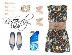 """""""Butterfly"""" by freckled-gypsy ❤ liked on Polyvore featuring Accessorize, Mela Loves London, Lucky Brand, Latelita and Sophia Webster"""