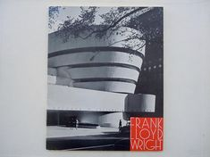 Frank Lloyd Wright The Solomon Guggenheim Museum Booklet 1961 Artist Statement Black and White Photos of Guggenheim