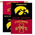 Ncaa 28 in. x 40 in. Iowa/Iowa State Rivalry House Divided Flag