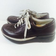 Naturalizer Womens Shoes Size 4.5 Med Leather Sport Lace Up Chocolate Brown  #Naturalizer #LaceUp