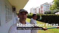 Ein Tag mit Hausmeister Ercan in Antalya Baseball Cards, Sports, Challenges, Destinations, Hs Sports, Sport