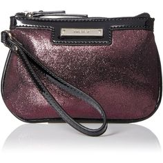 Nine West Glitter Mob Small Wristlet (45 SAR) ❤ liked on Polyvore featuring bags, handbags, clutches, nine west handbags, glitter clutches, nine west, nine west wristlet and nine west purses