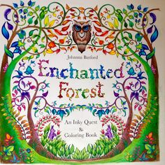 #enchantedforest #johannabasford #coloring #adultcoloring