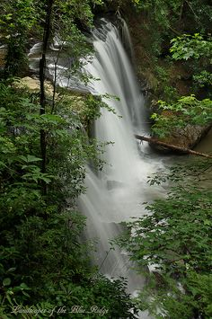 Brasstown Veil Waterfall - South Carolina