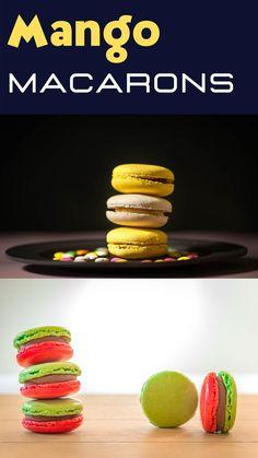 Classic French Dishes, Macaron Recipe, Dessert Recipes, Desserts, Macarons, Mango, Easy, Tailgate Desserts, Manga