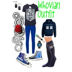 Whovian outfit