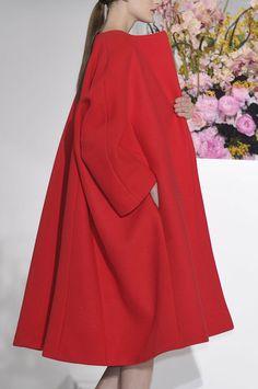 Jil Sander Fall 2012...love a swing coat!