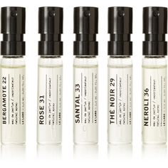Le Labo Discovery Set, 5 x 1.5ml ($30) ❤ liked on Polyvore featuring beauty products, gift sets & kits, colorless and le labo