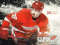 Tomáš Jurčo (b December 28, 1992) is a Slovak professional ice hockey right winger currently playing for the Detroit Red Wings of the (NHL). He began playing hockey in the HC Košice before moving to North America in 2009 to play for the Saint John Sea Dogs of the (QMJHL). He spent three seasons with Saint John, helping them win the Memorial Cup as major junior champions of Canada in 2011. Jurčo was drafted in the second round, 35th overall, by the Red Wings in the 2011 NHL Entry Draft. Saint John, Detroit Red Wings, Ice Hockey, Nhl, North America, Champion, Two By Two, December, Canada