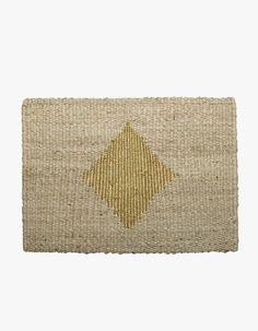 Diamond Doormat - Gold