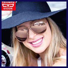 0bd23b097 TRIUMPH VISION Polarized Aviator Sunglasses Women Mirrored Pilot Sun  Glasses for Women Shades Female Lentes Gafas