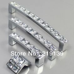 Regency hardware pulls knobs for kitchens and bathrooms  | ... Bathroom Kids Dresser Knobs And Handles Drawer Kitchen Cabinet Pulls........FOR THOSE WHO LOVE BLING AND OR HAVE THAT SPECIAL NEW VANITY,KITCHEN CABINETS/PULLS AND FURNITURE OR WANTING TO REVAMP YOUR DECOR,THIS BEAUTIFUL SILVER/CRYSTAL HARDWARE WILL GIVE YOU THAT UPSCALED BLING FOR CONTEMPORARY,CHIC,GLAM,ELEGANT LUXURIOUS TRADITIONAL/TRANSITIONAL DECOR.....'Cherie