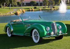 1947 Delahaye 135 MS - green -  (1)