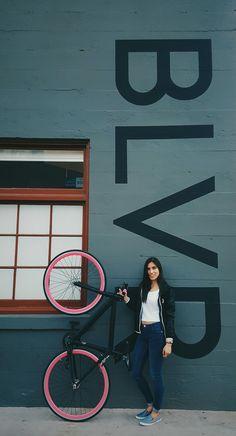 Bike Black and Pink