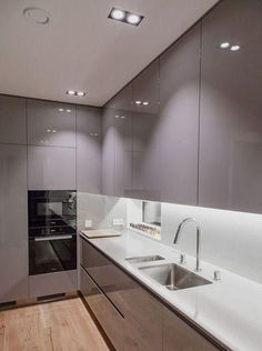 44 Fascinating Kitchen Glass Surfaces Design Ideas - Are you looking for a truly stunning finish to your top spec interior design project? Then look no further than bespoke glass surfaces. These decorati. Luxury Kitchen Design, Kitchen Room Design, Best Kitchen Designs, Kitchen Cabinet Design, Luxury Kitchens, Home Decor Kitchen, Interior Design Kitchen, Cool Kitchens, Kitchen Ideas