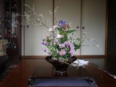 Kodemari, iris, carnations, mums by cdinwood