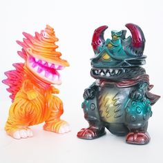 Gumtaro Gizalla and Gajyolla set, very limited Dreamrocket color for ToyConUK.
