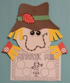 SCARECROW CRAFTIVITY - ACTIVITIES FOR THE FALL