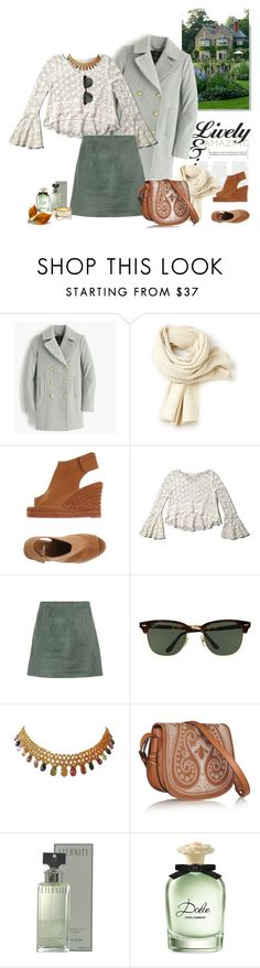 """""""1200"""" by m-lane ❤ liked on Polyvore featuring J.Crew, Lacoste, Castañer, Abercrombie & Fitch, Acne Studios, Ray-Ban, Marina, Tory Burch, Calvin Klein and Dolce&Gabbana"""