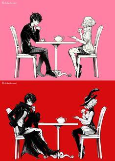 Persona 5 Memes, Persona 5 Anime, Persona 5 Joker, Persona 4, Fanart, Shin Megami Tensei Persona, Akira Kurusu, Video Game Art, Super Smash Bros