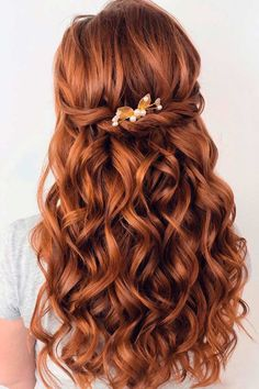 Half-Up Twisted Hairstyles ❤ #lovehairstyles #hair #hairstyles #haircuts Date Hairstyles, Holiday Hairstyles, Homecoming Hairstyles, Twist Hairstyles, Formal Hairstyles, Wedding Hairstyles, Half Up, Special Occasion, Hair Cuts