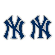 New York Yankees WinCraft Women's Post Earrings ($8.99) ❤ liked on Polyvore featuring jewelry, earrings, multi, post earrings and post back earrings