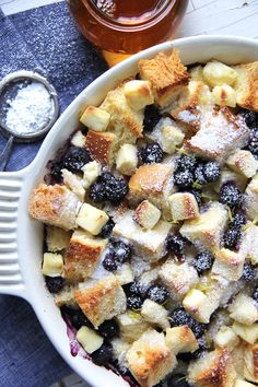 Blueberry Baked French Toast - A Pretty Life In The Suburbs