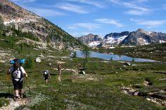 Lower Snowy Lake - North Cascades