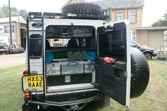 Our storage solution for Land Rover Defender 110 Overland