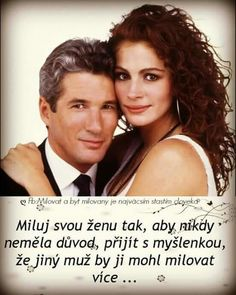 Miluj svou ženu Richard Gere, Jesus Loves Me, Hand Lettering, Quotations, Poems, Life Quotes, Bible, Advice, Romantic