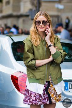 Olivia Palermo Street Style Street Fashion Streetsnaps by STYLEDUMONDE Street…