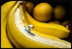 Banana Slopes | Miniature photography