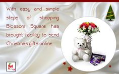 Send Christmas Flowers Online With Blossom Square
