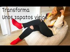 Convierte tus zapatos viejos en los botines de todas las instagramers. - YouTube