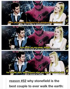 reason #52 why stonefield is the best couple to ever walk the earth: Andrew concerned about Emma's wrists.