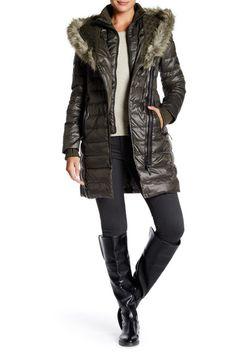Image of Rudsak Faux Fur Caroline Coat Women's Puffer, Fur Trim, Nordstrom Rack, Parka, Faux Fur, Winter Jackets, Coat, Shopping, Choices