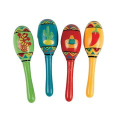 Can't have a fiesta without Maracas!