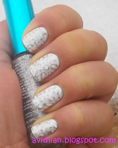 ...♥♥  HOW TO CLASSY.. Snowy Leopard Nails