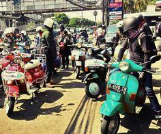 Mods Vs Rocker 2015 Indonesia