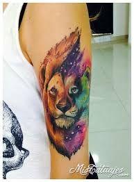 Resultado de imagen para tatuajes leona