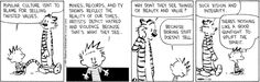 Calvin and Hobbes for Tuesday, July 28, 2015
