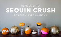DIY Paint Dipped Pumpkins #altsummit #thanksbing