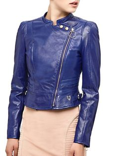 MARCIANO REAL LEATHER JACKET on Guess.eu
