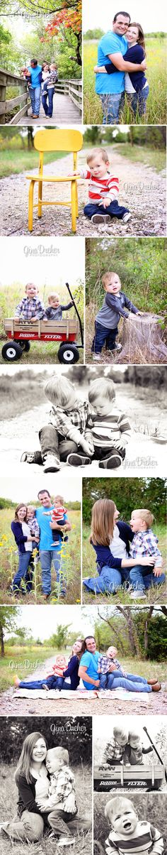 great ideas for family pics