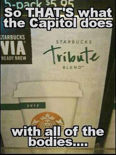 The Hunger Games – Catching Fire – Mockingjay - Tributes - Starbucks
