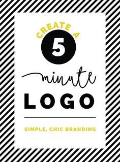 5 minute logo idea #1   LOVE PLUS COLOR